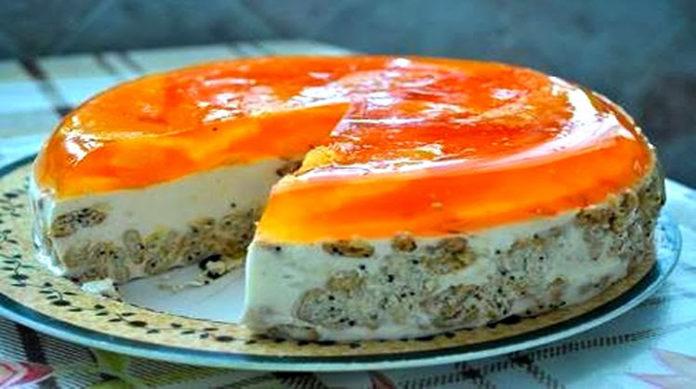 Апельсиновый торт без выпечки - десерт, который заслуживает самых высоких похвал