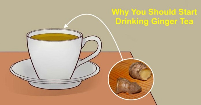 Почему нужно пить имбирный чай и как его правильно приготовить!