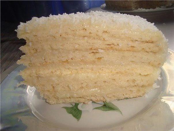"""Торт """"Рафаэлло"""" - незабываемый нежный вкус. Покорит каждого!"""