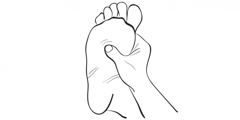Если вы нажмете эту точку на ноге, прежде чем лечь спать, произойдет что-то очень неожиданное...