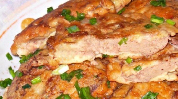 Такую печень вы точно не готовили! Нежная куриная печенка в сметанно-чесночном кляре