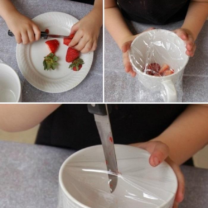 Вот как можно использовать пищевую пленку! 13 хитрых способов применения чудо-материала