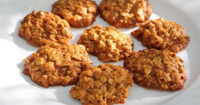 Диетическое овсяное печенье - отличный рецепт без муки, яиц и масла!