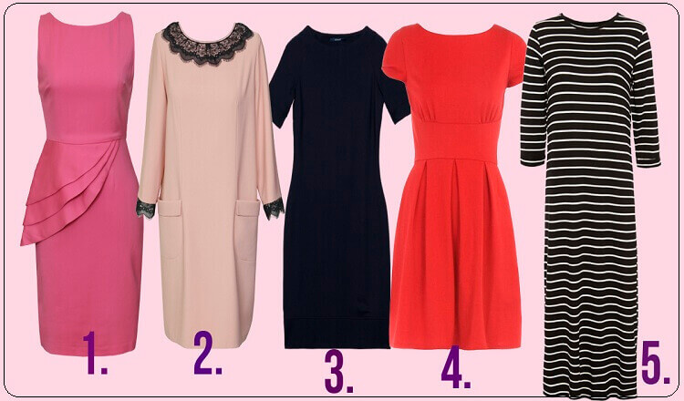 Не задумываясь, выберите платье и узнайте о себе кое-что интересное!