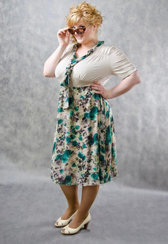 Советы модного стилиста: 6 правил выбора платьев для полных девушек!