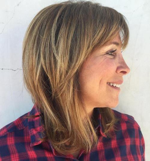 33 стильных варианта модных стрижек для женщин после 50, которые убавят вам 10 лет!