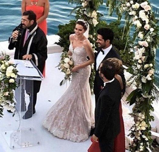 Эксклюзив: состоялась свадьба Бурака Озчивита и Фахрие Эвджен! Фото+видео.