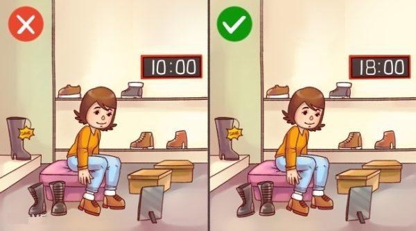 12 хитростей, которые вам помогут правильно выбрать обувь!