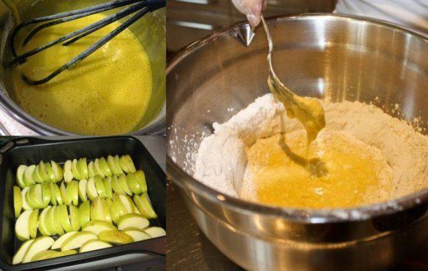 Восхитительный яблочный пирог - не стыдно поставить на стол вместо торта!