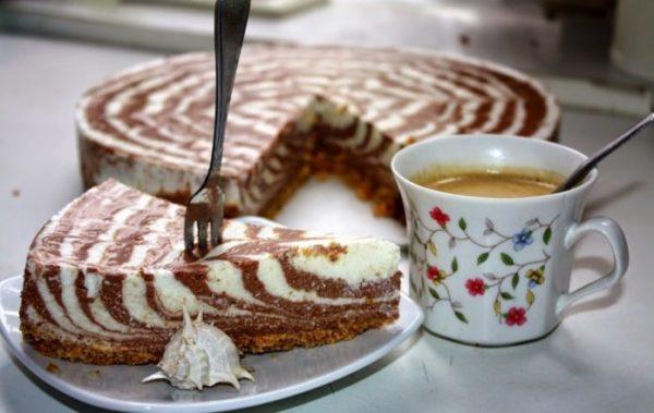 Потрясающий десерт для праздничного стола - творожный торт без выпечки!