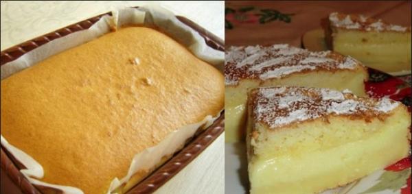 """Нежное и """"умное"""" домашнее пирожное. Попробуйте - не пожалеете!"""