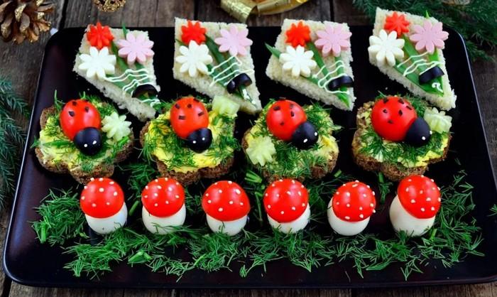 35 оригинальных идей для украшения праздничных блюд!