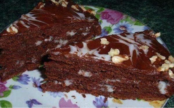 Замечательный десерт для посиделок с подругами - трюфельный сметанник!
