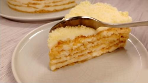 "Просто суперский торт без выпечки ""Пломбир""!"