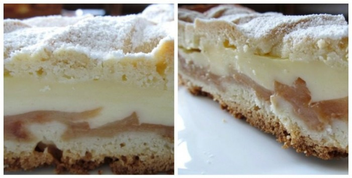Аппетитная замена шарлотке. Если готовить домашний пирог с яблоками, то только так!