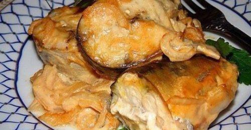 Вкуснейшее лакомство из скумбрии в пикантном горчичном соусе