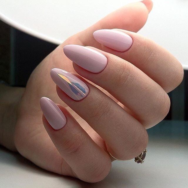 Маникюр роскошного цвета «Пыльная роза»- нежно, стильно и невероятно женственно!