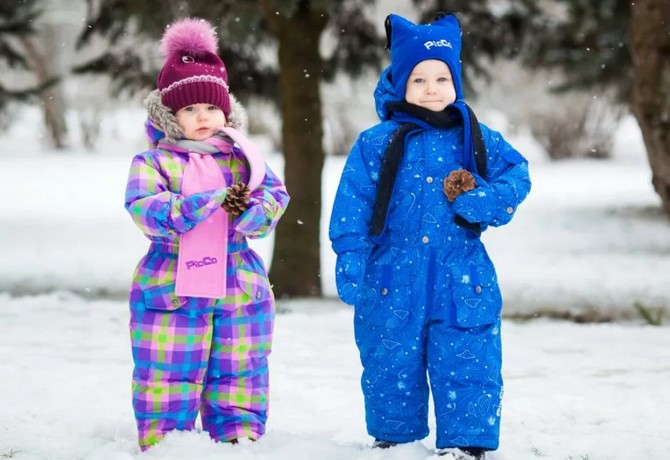 Как выбрать зимний комбинезон ребёнку?