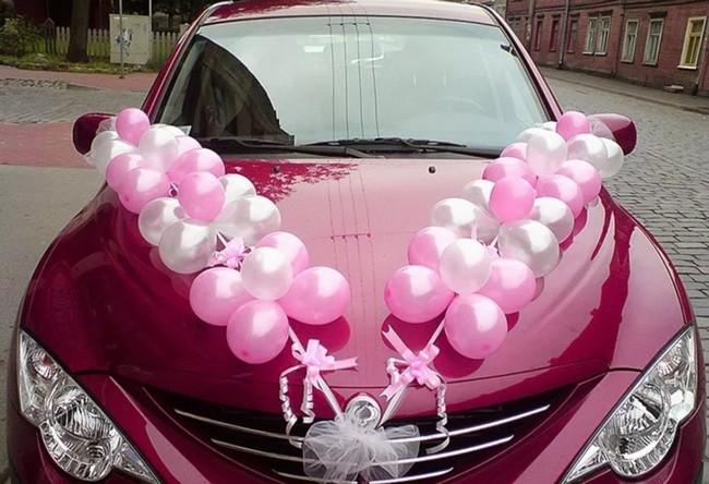 Как украсить свадебные авто?